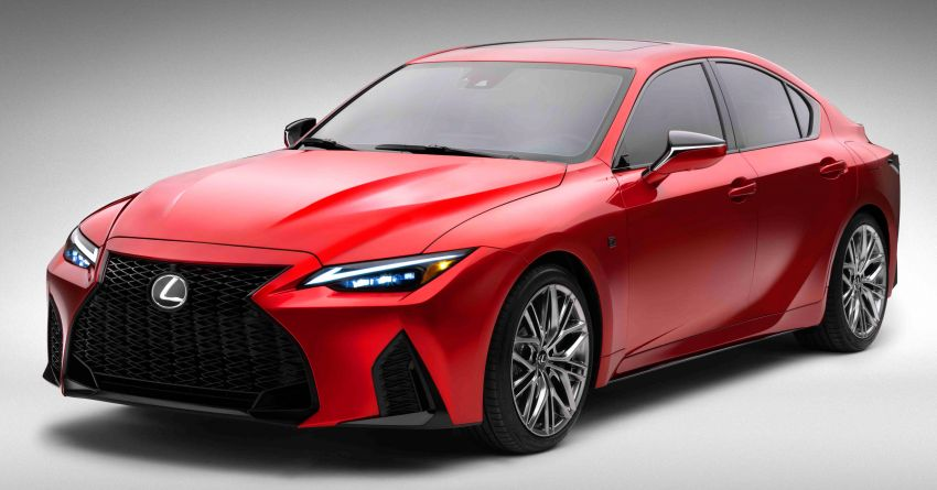 2022 Lexus IS 500 F Sport Performance revealed – sports sedan with a 5.0L NA V8; 472 hp and 535 Nm Image #1252056