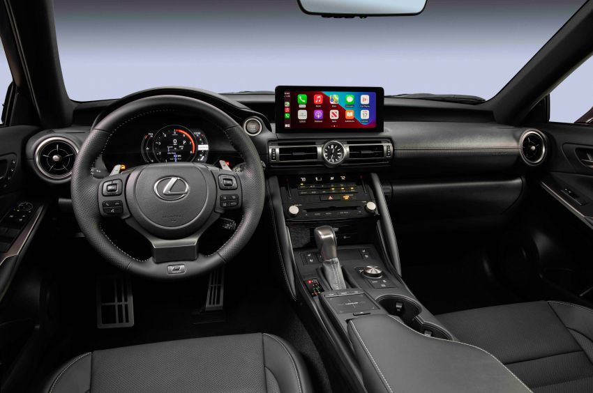 2022 Lexus IS 500 F Sport Performance revealed – sports sedan with a 5.0L NA V8; 472 hp and 535 Nm Image #1252082