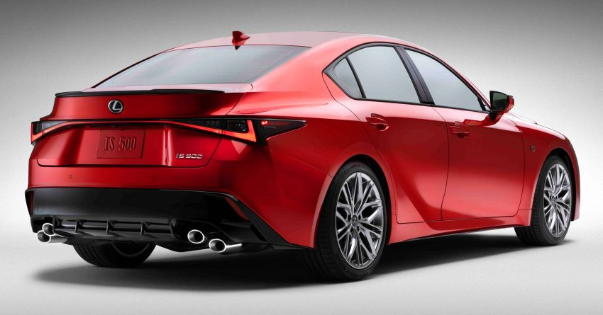 2022 Lexus IS 500 F Sport Performance revealed – sports sedan with a 5.0L NA V8; 472 hp and 535 Nm Image #1252057