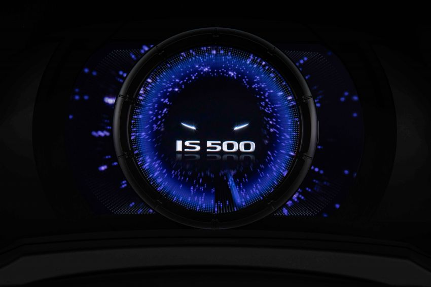 2022 Lexus IS 500 F Sport Performance revealed – sports sedan with a 5.0L NA V8; 472 hp and 535 Nm Image #1252106