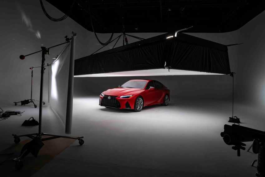 2022 Lexus IS 500 F Sport Performance revealed – sports sedan with a 5.0L NA V8; 472 hp and 535 Nm Image #1252121