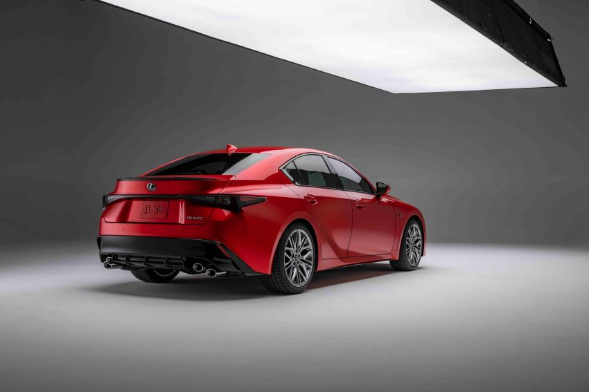 2022 Lexus IS 500 F Sport Performance revealed – sports sedan with a 5.0L NA V8; 472 hp and 535 Nm Image #1252124
