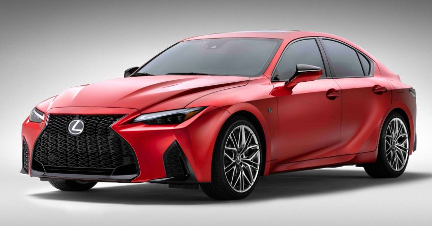 2022 Lexus IS 500 F Sport Performance revealed – sports sedan with a 5.0L NA V8; 472 hp and 535 Nm Image #1252126