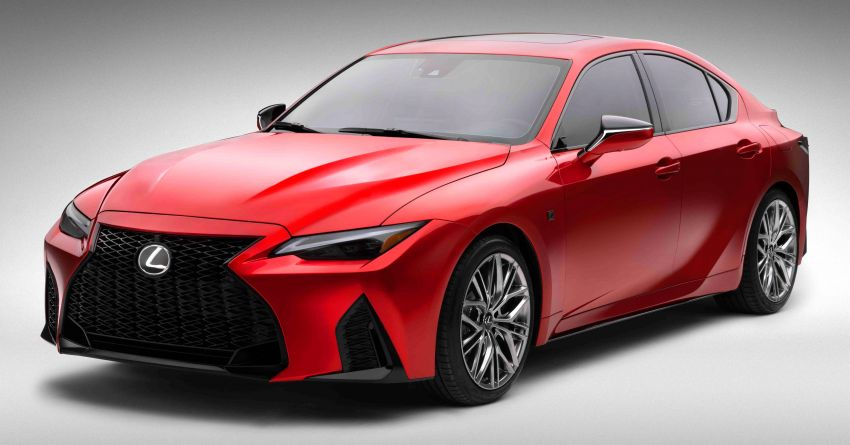 2022 Lexus IS 500 F Sport Performance revealed – sports sedan with a 5.0L NA V8; 472 hp and 535 Nm Image #1252128