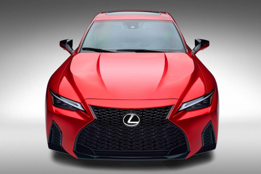 2022 Lexus IS 500 F Sport Performance revealed – sports sedan with a 5.0L NA V8; 472 hp and 535 Nm Image #1252135