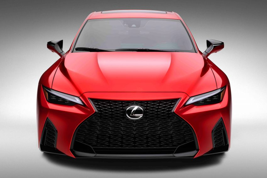 2022 Lexus IS 500 F Sport Performance revealed – sports sedan with a 5.0L NA V8; 472 hp and 535 Nm Image #1252138