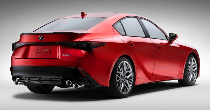 2022 Lexus IS 500 F Sport Performance revealed – sports sedan with a 5.0L NA V8; 472 hp and 535 Nm Image #1252139