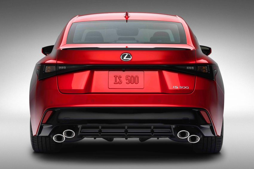 2022 Lexus IS 500 F Sport Performance revealed – sports sedan with a 5.0L NA V8; 472 hp and 535 Nm Image #1252145