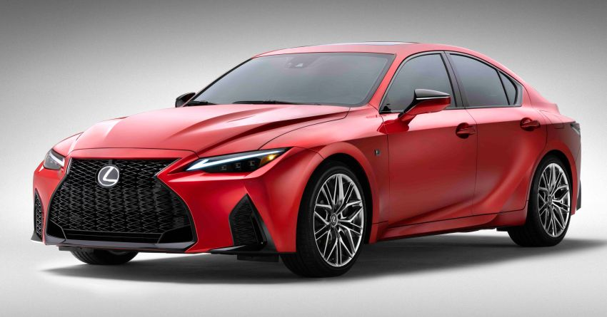 2022 Lexus IS 500 F Sport Performance revealed – sports sedan with a 5.0L NA V8; 472 hp and 535 Nm Image #1252147