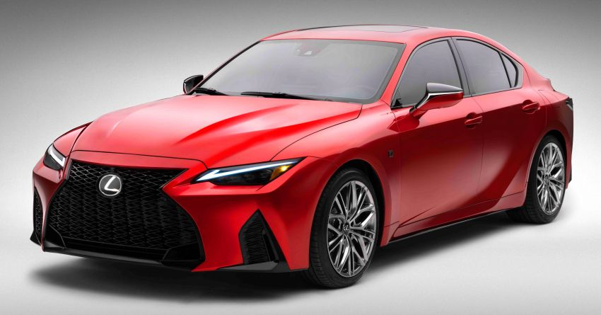 2022 Lexus IS 500 F Sport Performance revealed – sports sedan with a 5.0L NA V8; 472 hp and 535 Nm Image #1252148
