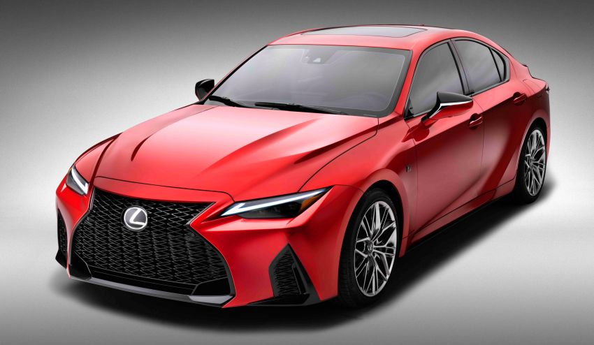 2022 Lexus IS 500 F Sport Performance revealed – sports sedan with a 5.0L NA V8; 472 hp and 535 Nm Image #1252149