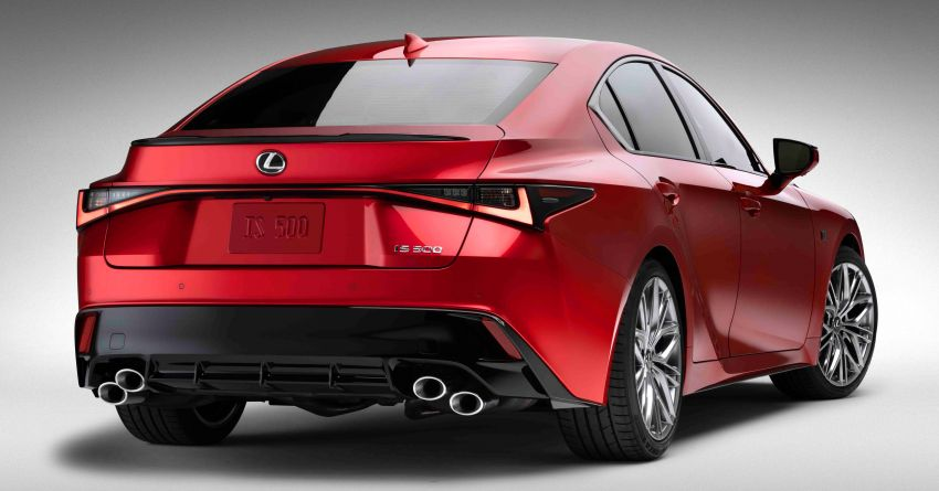 2022 Lexus IS 500 F Sport Performance revealed – sports sedan with a 5.0L NA V8; 472 hp and 535 Nm Image #1252059