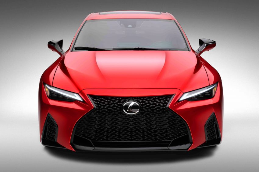 2022 Lexus IS 500 F Sport Performance revealed – sports sedan with a 5.0L NA V8; 472 hp and 535 Nm Image #1252153
