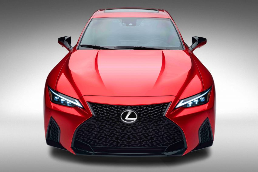 2022 Lexus IS 500 F Sport Performance revealed – sports sedan with a 5.0L NA V8; 472 hp and 535 Nm Image #1252061
