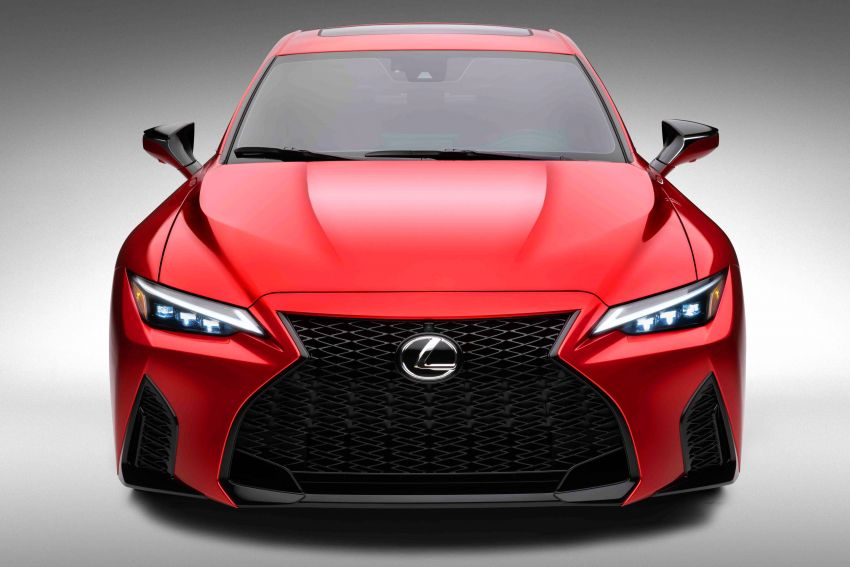 2022 Lexus IS 500 F Sport Performance revealed – sports sedan with a 5.0L NA V8; 472 hp and 535 Nm Image #1252062