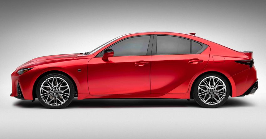 2022 Lexus IS 500 F Sport Performance revealed – sports sedan with a 5.0L NA V8; 472 hp and 535 Nm Image #1252065