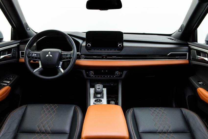 2022 Mitsubishi Outlander unveiled – Engelberg Tourer looks, based on Nissan X-Trail, larger 2.5 litre engine Image #1248980
