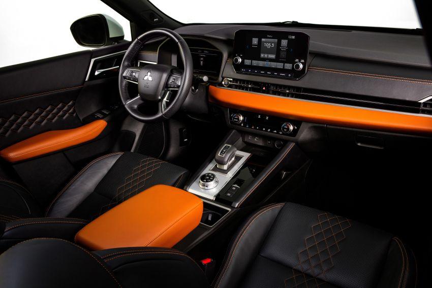 2022 Mitsubishi Outlander unveiled – Engelberg Tourer looks, based on Nissan X-Trail, larger 2.5 litre engine Image #1249007