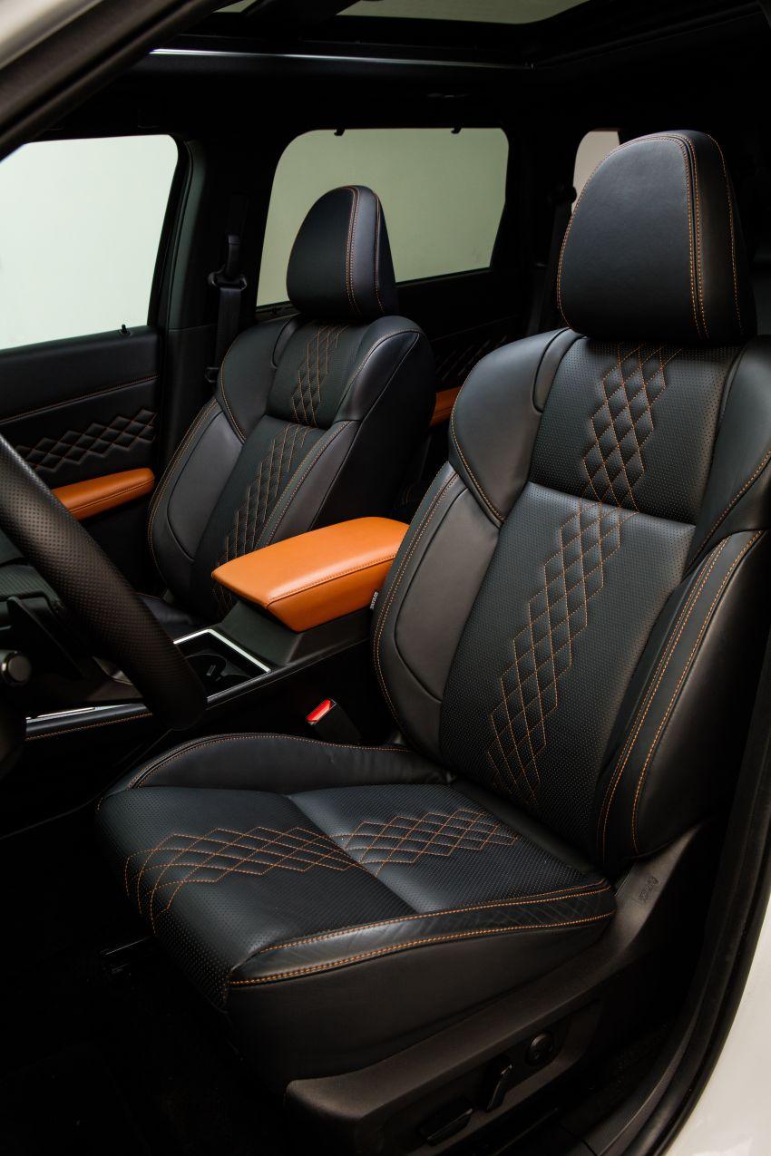 2022 Mitsubishi Outlander unveiled – Engelberg Tourer looks, based on Nissan X-Trail, larger 2.5 litre engine Image #1249011