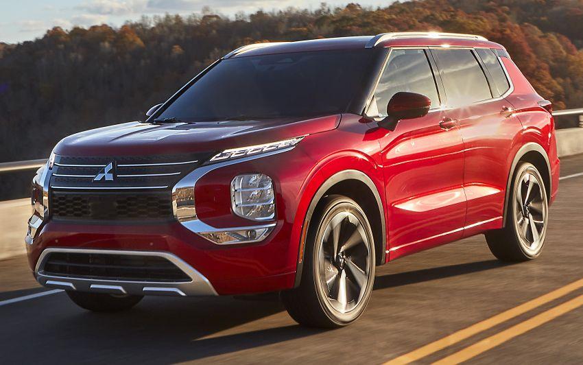 2022 Mitsubishi Outlander unveiled – Engelberg Tourer looks, based on Nissan X-Trail, larger 2.5 litre engine Image #1249029