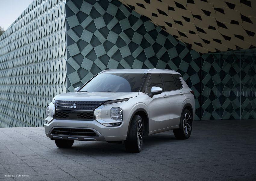 2022 Mitsubishi Outlander unveiled – Engelberg Tourer looks, based on Nissan X-Trail, larger 2.5 litre engine Image #1249038
