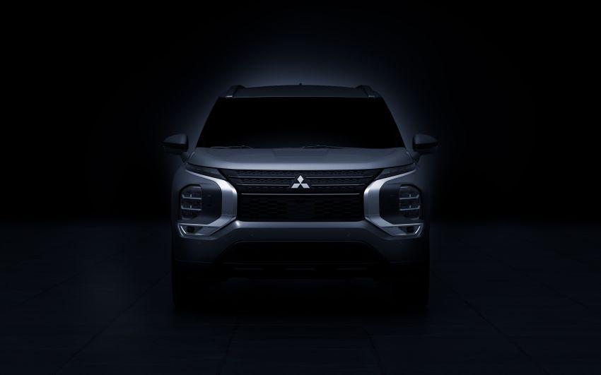 2022 Mitsubishi Outlander unveiled – Engelberg Tourer looks, based on Nissan X-Trail, larger 2.5 litre engine Image #1249044