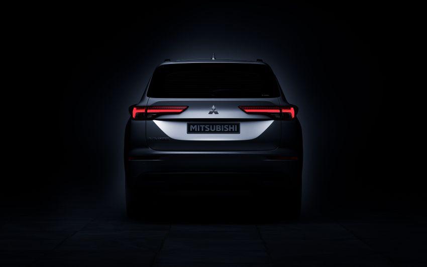 2022 Mitsubishi Outlander unveiled – Engelberg Tourer looks, based on Nissan X-Trail, larger 2.5 litre engine Image #1249048