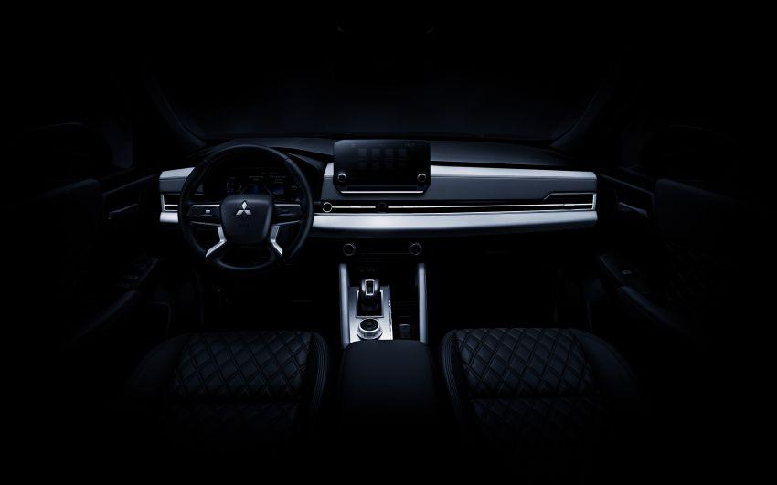 2022 Mitsubishi Outlander unveiled – Engelberg Tourer looks, based on Nissan X-Trail, larger 2.5 litre engine Image #1249050