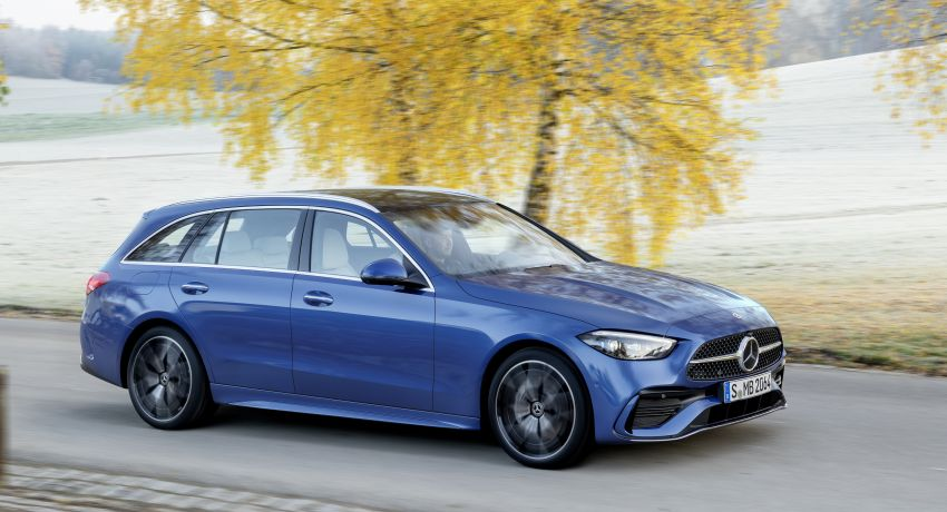 2022 W206 Mercedes-Benz C-Class debuts – tech from S-Class, MBUX, PHEV with 100 km all-electric range Image #1252726
