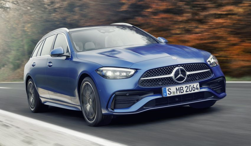 2022 W206 Mercedes-Benz C-Class debuts – tech from S-Class, MBUX, PHEV with 100 km all-electric range Image #1252731