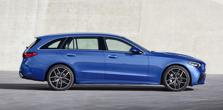 2022 W206 Mercedes-Benz C-Class debuts – tech from S-Class, MBUX, PHEV with 100 km all-electric range Image #1252732