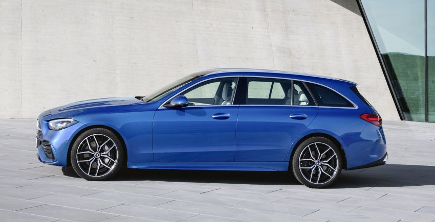 2022 W206 Mercedes-Benz C-Class debuts – tech from S-Class, MBUX, PHEV with 100 km all-electric range Image #1252734