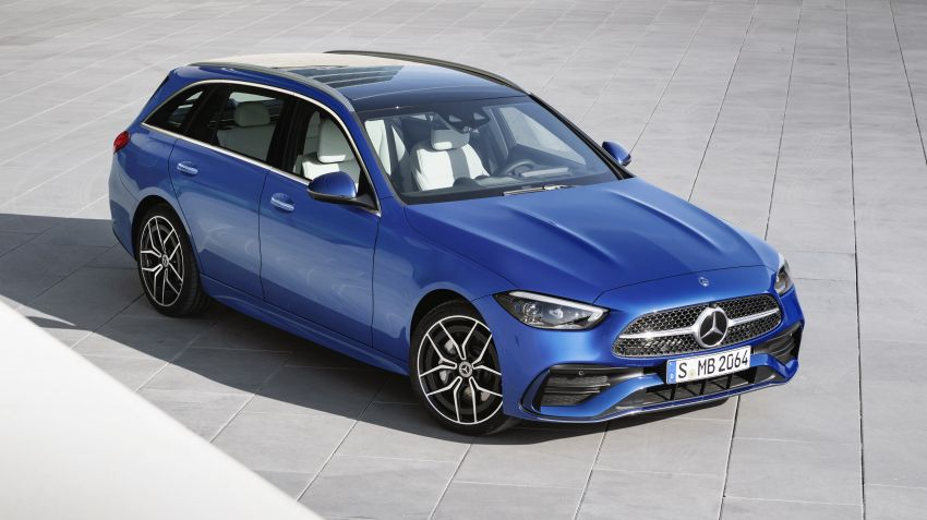 2022 W206 Mercedes-Benz C-Class debuts – tech from S-Class, MBUX, PHEV with 100 km all-electric range Image #1252736