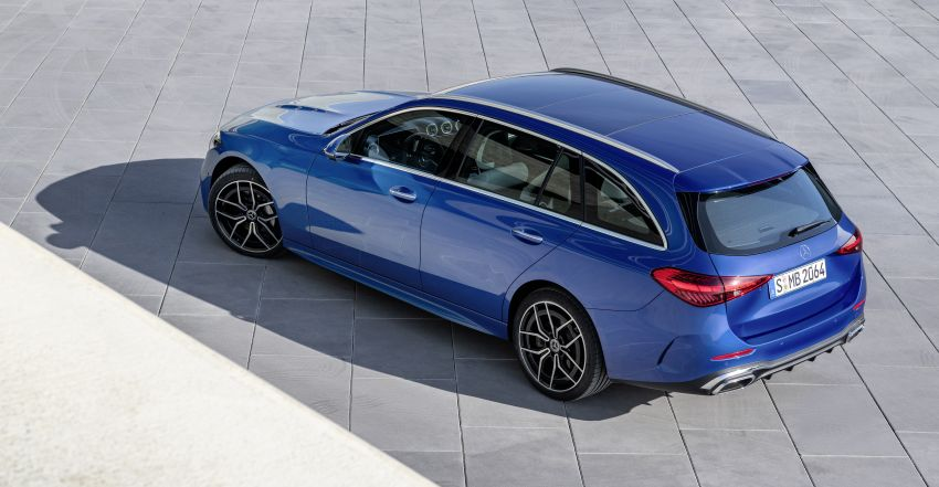 2022 W206 Mercedes-Benz C-Class debuts – tech from S-Class, MBUX, PHEV with 100 km all-electric range Image #1252737
