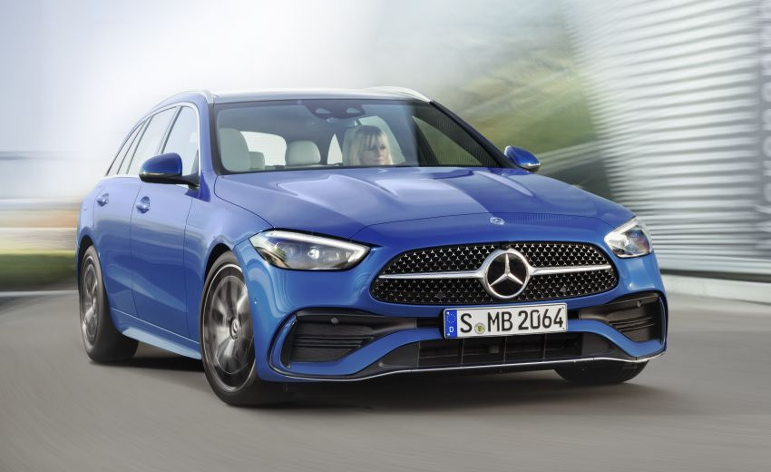 2022 W206 Mercedes-Benz C-Class debuts – tech from S-Class, MBUX, PHEV with 100 km all-electric range Image #1252741