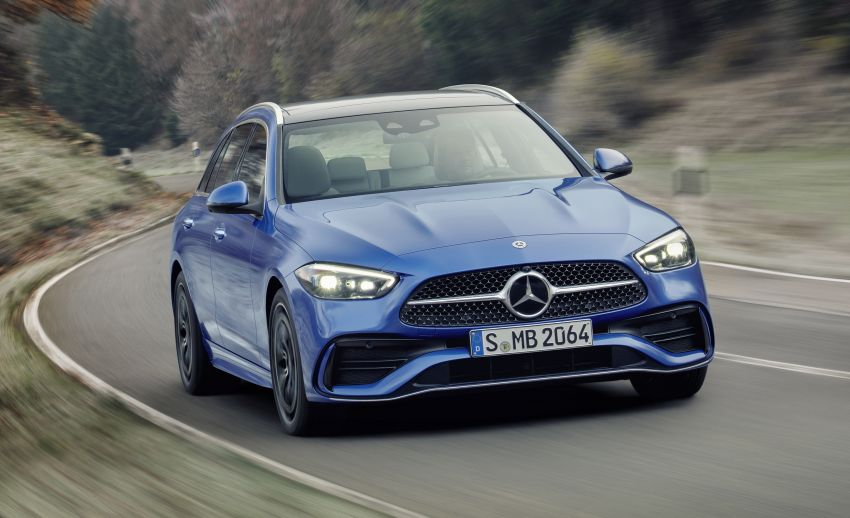 2022 W206 Mercedes-Benz C-Class debuts – tech from S-Class, MBUX, PHEV with 100 km all-electric range Image #1252742
