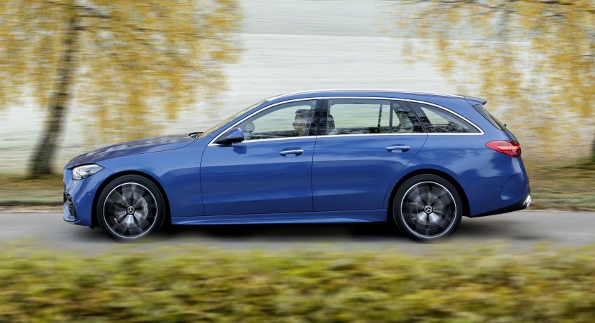 2022 W206 Mercedes-Benz C-Class debuts – tech from S-Class, MBUX, PHEV with 100 km all-electric range Image #1252743