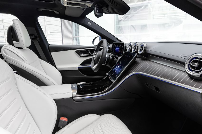 2022 W206 Mercedes-Benz C-Class debuts – tech from S-Class, MBUX, PHEV with 100 km all-electric range Image #1252744