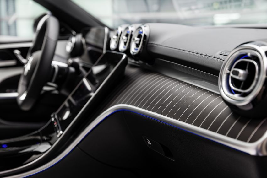 2022 W206 Mercedes-Benz C-Class debuts – tech from S-Class, MBUX, PHEV with 100 km all-electric range Image #1252745