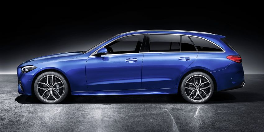 2022 W206 Mercedes-Benz C-Class debuts – tech from S-Class, MBUX, PHEV with 100 km all-electric range Image #1252752