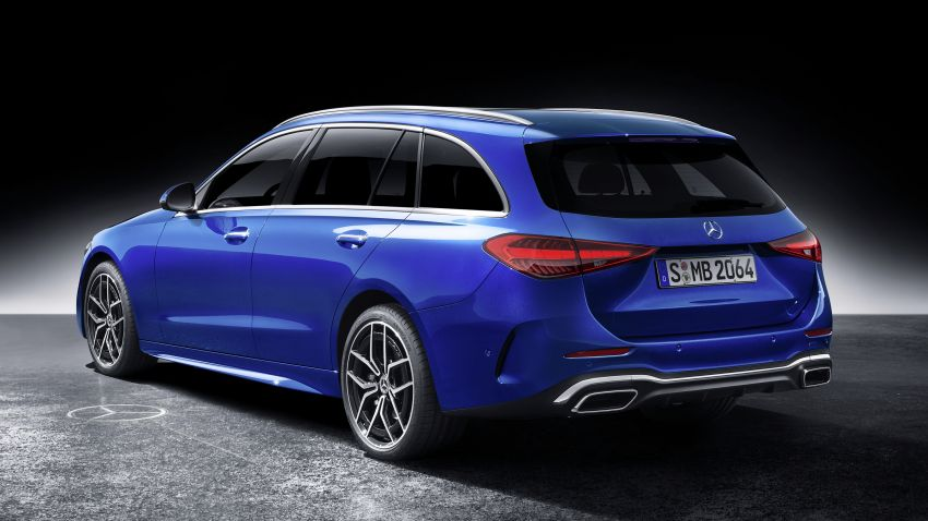 2022 W206 Mercedes-Benz C-Class debuts – tech from S-Class, MBUX, PHEV with 100 km all-electric range Image #1252753