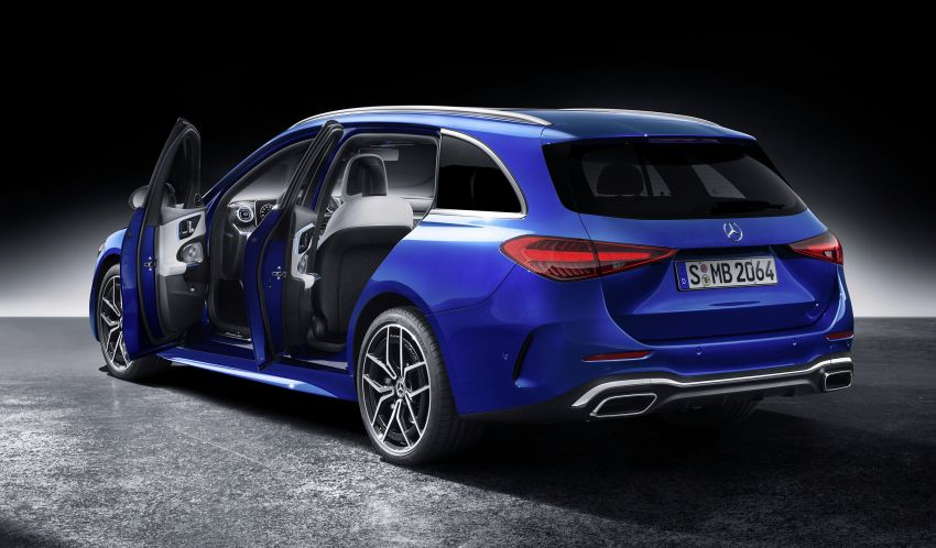 2022 W206 Mercedes-Benz C-Class debuts – tech from S-Class, MBUX, PHEV with 100 km all-electric range Image #1252754