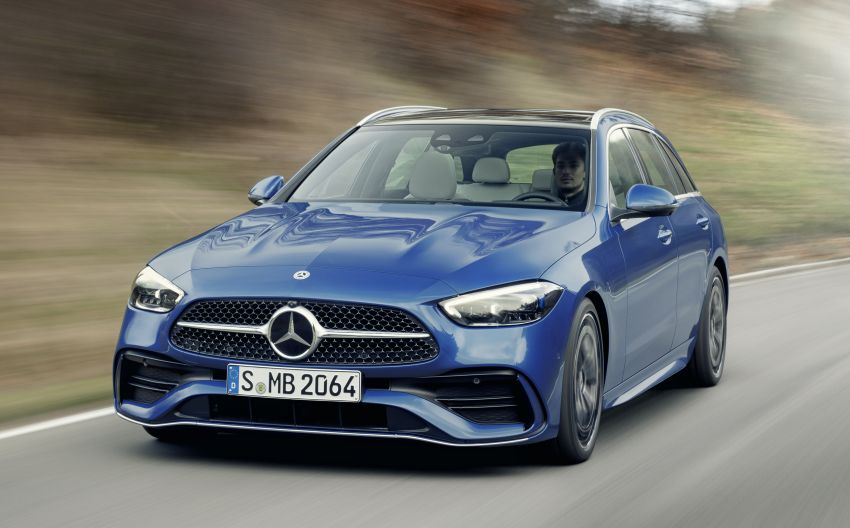 2022 W206 Mercedes-Benz C-Class debuts – tech from S-Class, MBUX, PHEV with 100 km all-electric range Image #1252719