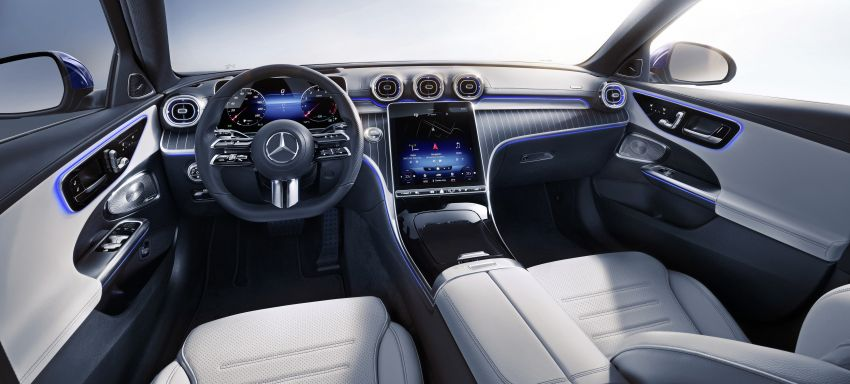 2022 W206 Mercedes-Benz C-Class debuts – tech from S-Class, MBUX, PHEV with 100 km all-electric range Image #1252755