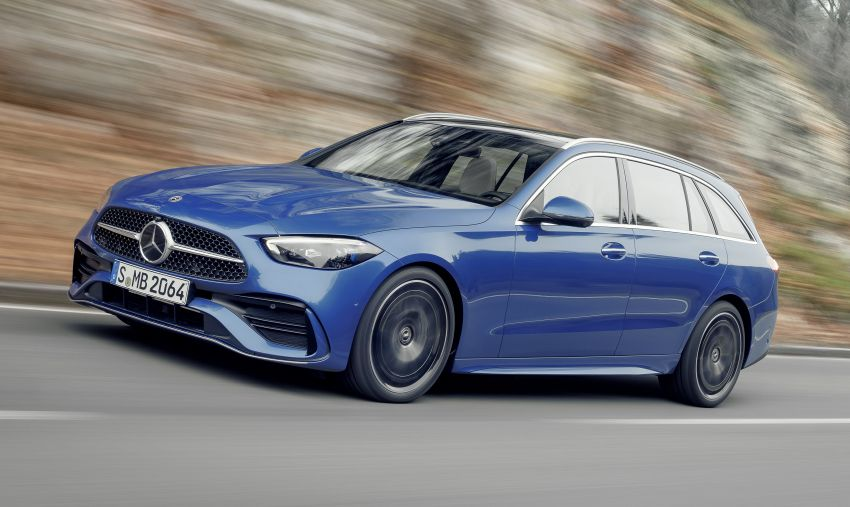 2022 W206 Mercedes-Benz C-Class debuts – tech from S-Class, MBUX, PHEV with 100 km all-electric range Image #1252720