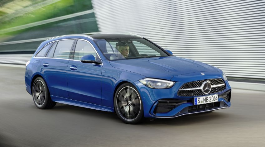2022 W206 Mercedes-Benz C-Class debuts – tech from S-Class, MBUX, PHEV with 100 km all-electric range Image #1252723