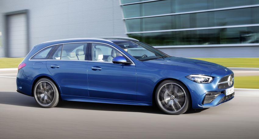 2022 W206 Mercedes-Benz C-Class debuts – tech from S-Class, MBUX, PHEV with 100 km all-electric range Image #1252724