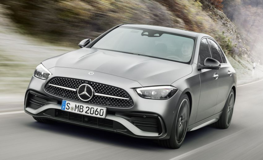2022 W206 Mercedes-Benz C-Class debuts – tech from S-Class, MBUX, PHEV with 100 km all-electric range Image #1252668