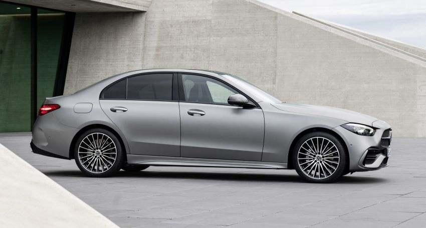 2022 W206 Mercedes-Benz C-Class debuts – tech from S-Class, MBUX, PHEV with 100 km all-electric range Image #1252678