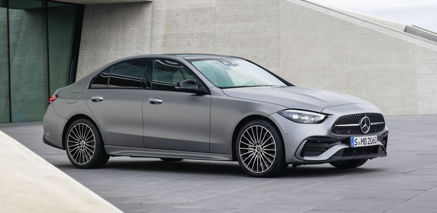 2022 W206 Mercedes-Benz C-Class debuts – tech from S-Class, MBUX, PHEV with 100 km all-electric range Image #1252679